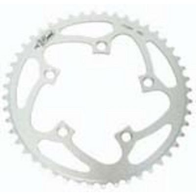Rocket Alloy Chainring 110mm 5 Bolt 44T Silver