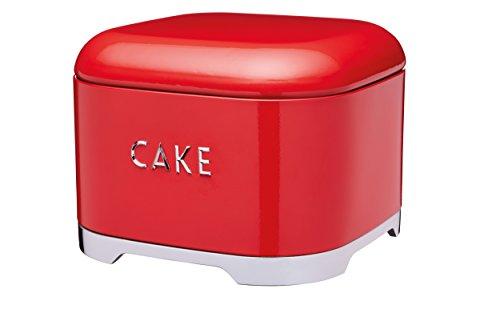Kitchen Craft lovello gâteau boîte de rangement, 26x 26x 20cm (25,4x 20,3cm)-Rouge