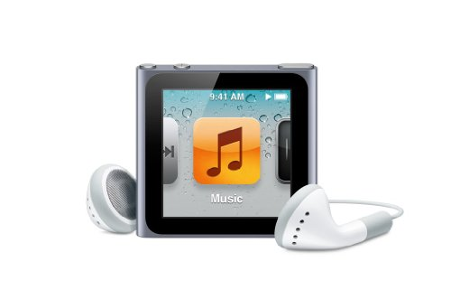 Apple iPod nano 16GB - Graphite - 6th Generation (Launched Sept 2010)
