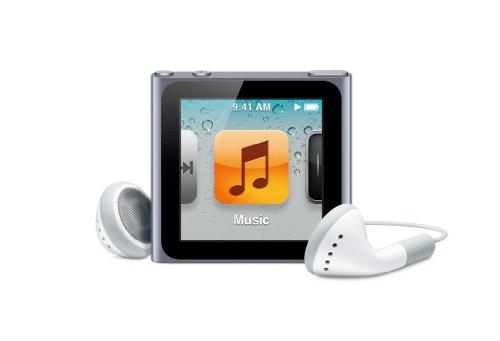 Apple iPod nano 16GB - Graphite - 6th Generation (Launched Sept 2010)