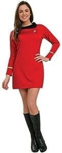 Women'S Costume: Star Trek Classic Red Dress- Medium