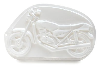 MOTORCYCLE CAKE PAN PLASTIC PANTASTIC HARLEY PARTY