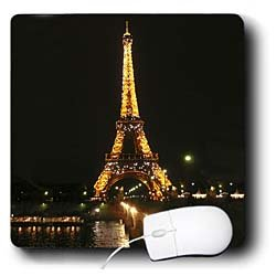 Vacation Spots - Eiffel Tower - Mouse Pads