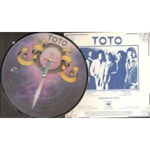 TOTO - Hold The Line - Pic Disc - 7inch x 1