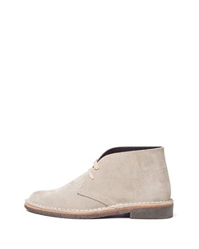 British Passport Stringata Alta Chukka [Beige]