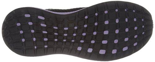 Adidas Performance Women's Energy Bounce 2.0 Running Shoe,Black/Black/Glow Purple,7 M US