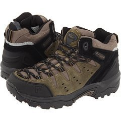 Propet Womens Summit Walker Mid in Gunsmoke/Black Size 6 E US