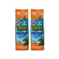 Magnum Coffee Whole Bean Coffee, Jamaican Blue Mountain Blend, 16 Ounce (2 Bags)