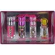 ED HARDY VARIETY by Christian Audigier Gift Set for WOMEN: 4 PIECE WOMENS MINI SET WITH ED HARDY &…