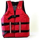 ITUS Survivor Life Jacket Red-yellow