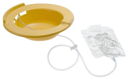 DMI-Portable-Bidet-Sitz-Bath-Smooth-Contoured-Plastic-Yellow