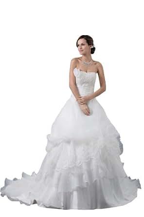 Herafa Wedding Dress Elegant NOw35394 Amazon Fashion