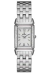 Bulova Diamond Collection Dress Ladies Watch 96R113