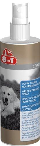 Artikelbild: 8in1 Welpen Training Spray für junge Hunde (Erziehungshilfe für schnellen und nachhaltigen Lernerfolg, für drinnen und draußen), 230 ml Flasche
