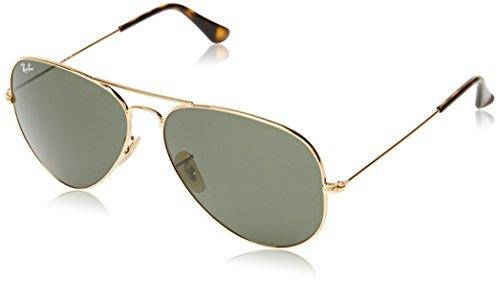 ray-ban-unisex-sonnenbrille-rb3025-gr-x-large-herstellergrosse-62-grun-gestell-gold-glaser-grun-klas