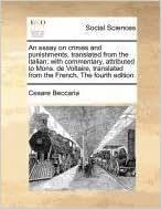 On Crimes and Punishment Essays