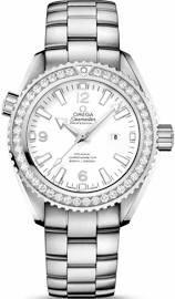 Omega Seamaster Planet Ocean White Dial Automatic Diamond Ladies Watch 23215382004001