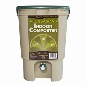 all seasons indoor composter tan compost bins. Black Bedroom Furniture Sets. Home Design Ideas