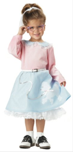 California Costume 50s Poodle Cutie for Toddler