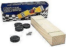 Scout Derby Grand Prix Pinewood Derby Car Kit