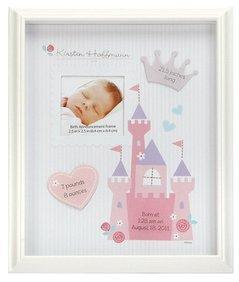 Disney Princess Birth Announcement Frame - 1
