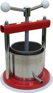 Fruit Press. 1.3L Aluminum/Stainless Steel