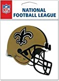 NFL TEAM HELMET 3D Stickers NEW ORLEANS SAINTS - DISCONTINUED ITEM - For Scrapbooking, Card Making & Craft Projects