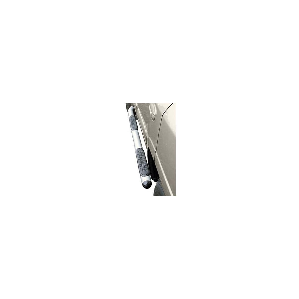 Manik 169553TSP Polished Stainless Steel Tube Steps