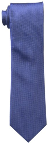 Calvin-Klein-Mens-Silver-Spun-Solid-Tie