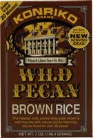 Konriko Brown Rice Wild Pecan - 7 oz