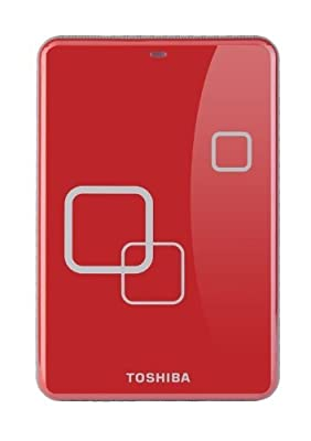 Toshiba E05A050PAU2ER_C Store Art3 2.5Inch Red 500GB by Toshiba