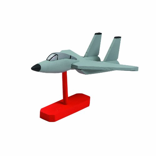 WeGlow International Fighter Jet Wooden Model Kit 2-Pack - 1