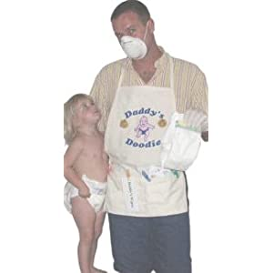 Unique Baby Gift Ideas on Changing Apron   Unique New Dad Gag Gift  Baby Shower Gift Idea  Baby