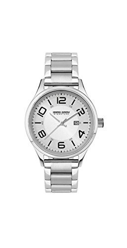 Jorg Gray Signature Collection Women's Quartz Watch with Silver Dial Analogue Display and Silver Stainless Steel Bracelet JGS2571B