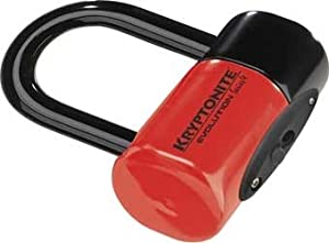 Kryptonite Evolution Series 4 Disc Lock Red by Kryptonite