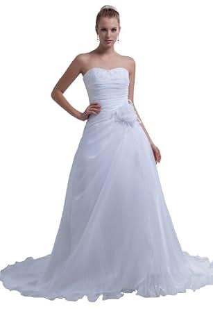 Herafa Wedding Dress Elegant NOw35185 Amazon Fashion