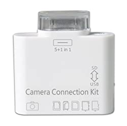 Camera Connection Kit 5 in 1 USB/SD/TF/MicroSd Card Reader for Apple IPad