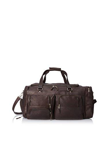 LATICO Men's Deluxe Travel Duffel Bag, Cafe