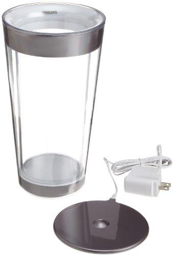 Philips 69153/60/48 Lumiware Led Color-Changing Vase, Transparent