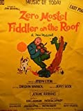 img - for Zero Mostel - Fiddler on the Roof - Easy Piano, No. 59 book / textbook / text book