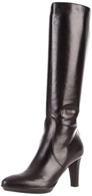 Aquatalia by Marvin K. Women's Rap Boot,Black Calf,5.5 B US