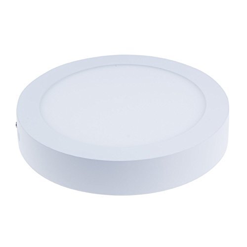 Cozyswan®New Energy Saving Round Shape Cool White(6000-6500K)Panel Light Surface Mounted 6 Watt Dimmable Round Led Ceiling Panel Light Downlight Lamp With Led Driver