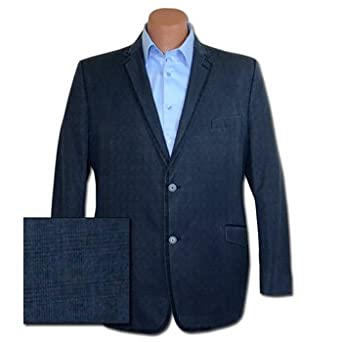 Young Men's Casual Cotton Check Jacket