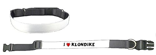 personalised-dog-collar-with-i-love-klondike-first-name-surname-nickname