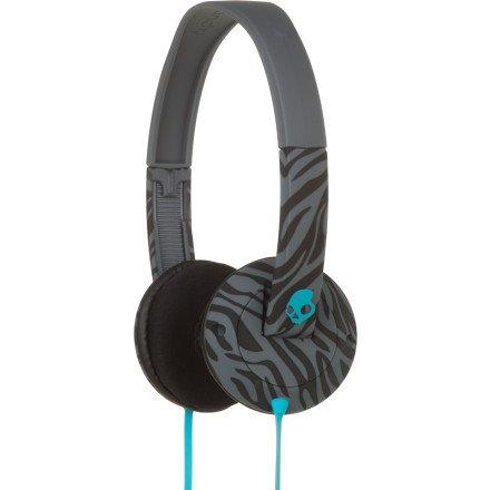 Skullcandy Uprock Headphones (Black/Gray/Turquoise)