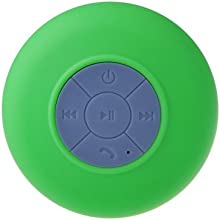 Patuoxun Mini Altavoz Impermeable Bluetooth 3.0 Portátil Manos Libres para Ducha Baño Coche Compatible con Apple iPhone 5/5S 6/6S iPod Samsung Galaxy S4 S5 Note 5 Tablet PC