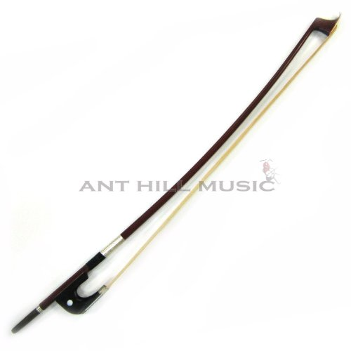 Brazilwood Double Bass Bow w/ Ebony Frog and Horsehair German Style