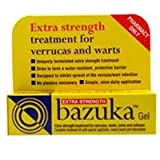Bazuka Extra Strength Verruca and Wart Remover Gel 5g