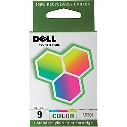 DELL PRINTER ACCESSORIES MK991 SERIES 9 COLOR INK CARTRIDGE