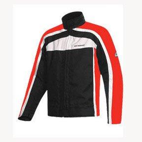 Hein Gericke PSX-R Blouson Motorcycle Jacket Red White Mens Size XLarge XL